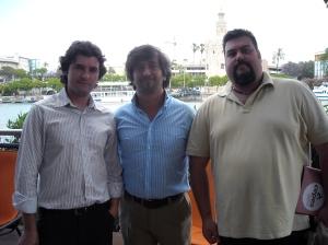 Jorge Carlos Perez Alcauza, César Calderón, José Manuel Lechuga