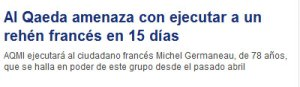Noticia en  CADENASER.COM